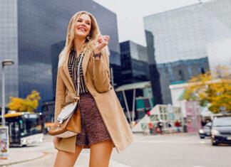 Jesienna szafa stylowej kobiety